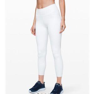Lululemon Train Times 7/8 White Pants 4